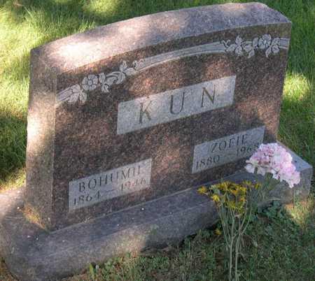 KUN, ZOFIE - Linn County, Iowa | ZOFIE KUN