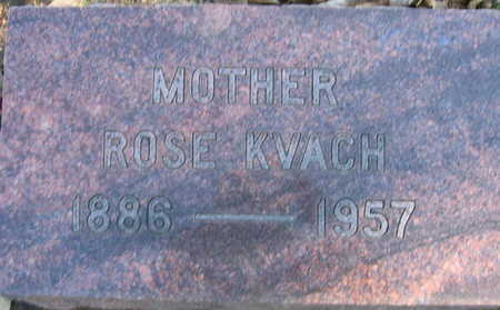 KVACH, ROSE - Linn County, Iowa | ROSE KVACH