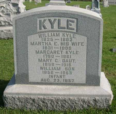 KYLE, MARTHA E. - Linn County, Iowa | MARTHA E. KYLE