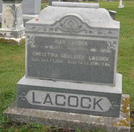 LACOCK, CHRISTINA ADALAIDE - Linn County, Iowa | CHRISTINA ADALAIDE LACOCK