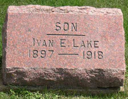 LAKE, IVAN E. - Linn County, Iowa | IVAN E. LAKE