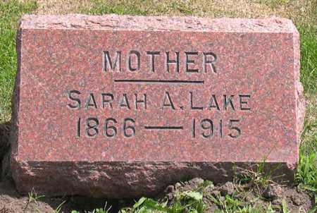 LAKE, SARAH A. - Linn County, Iowa | SARAH A. LAKE
