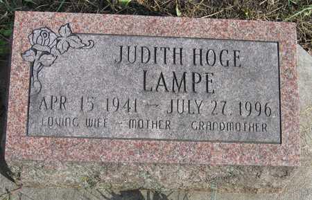 HOGE LAMPE, JUDITH - Linn County, Iowa | JUDITH HOGE LAMPE