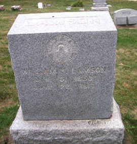 LAMSON, WILLIAM H. - Linn County, Iowa | WILLIAM H. LAMSON