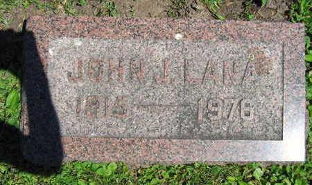 LANA, JOHN J. - Linn County, Iowa | JOHN J. LANA