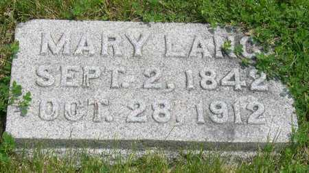 LANG, MARY - Linn County, Iowa | MARY LANG