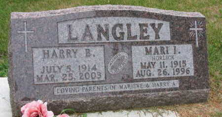 LANGLEY, MARI I. - Linn County, Iowa | MARI I. LANGLEY