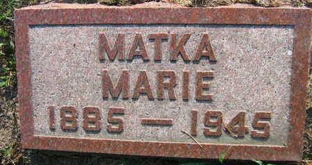 LANKA, MARIE - Linn County, Iowa | MARIE LANKA