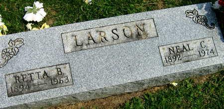LARSON, RETTA B. - Linn County, Iowa | RETTA B. LARSON
