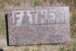 LARY, I. A. - Linn County, Iowa | I. A. LARY