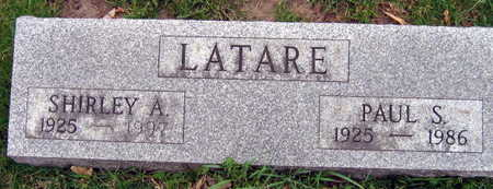 LATARE, PAUL S. - Linn County, Iowa | PAUL S. LATARE