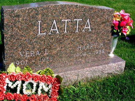 LATTA, HARRY H. - Linn County, Iowa | HARRY H. LATTA