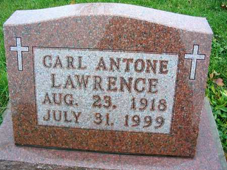 LAWRENCE, CARL ANTONE - Linn County, Iowa | CARL ANTONE LAWRENCE