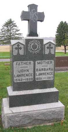 LAWRENCE, BARBARA - Linn County, Iowa | BARBARA LAWRENCE