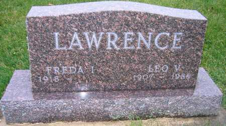 LAWRENCE, LEO V. - Linn County, Iowa | LEO V. LAWRENCE