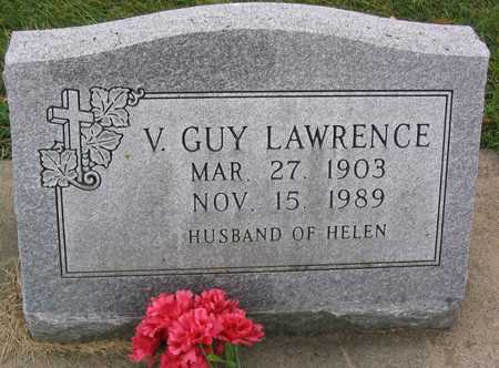 LAWRENCE, V. GUY - Linn County, Iowa | V. GUY LAWRENCE