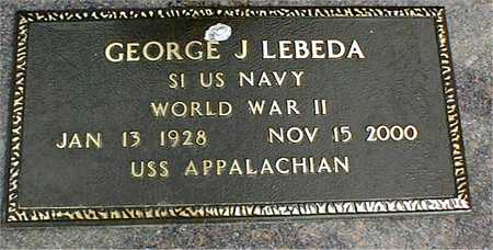 LEBEDA, GEORGE J. - Linn County, Iowa | GEORGE J. LEBEDA