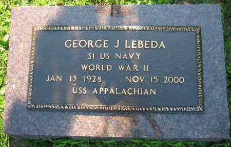 LEBEDA, GEORGE JOSEPH - Linn County, Iowa | GEORGE JOSEPH LEBEDA