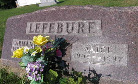 LEFEBURE, ALICE - Linn County, Iowa | ALICE LEFEBURE