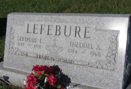 LEFEBURE, GERTRUDE E. - Linn County, Iowa | GERTRUDE E. LEFEBURE