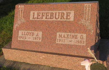 LEFEBURE, MAXINE G. - Linn County, Iowa | MAXINE G. LEFEBURE