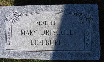 LEFEBURE, MARY - Linn County, Iowa | MARY LEFEBURE