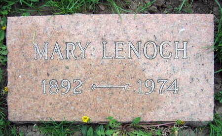 LENOCH, MARY - Linn County, Iowa | MARY LENOCH