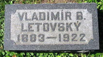 LETOVSKY, VLADIMIR B. - Linn County, Iowa | VLADIMIR B. LETOVSKY