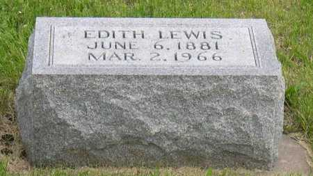 LEWIS, EDITH - Linn County, Iowa | EDITH LEWIS