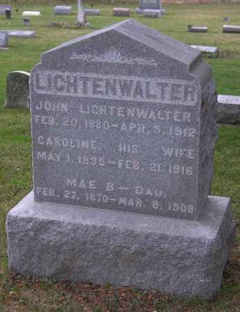 LICHTENWALTER, CAROLINE - Linn County, Iowa | CAROLINE LICHTENWALTER