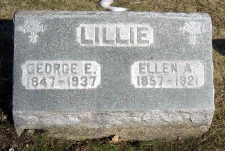 LILLIE, GEORGE E. - Linn County, Iowa | GEORGE E. LILLIE