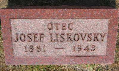 LISKOVSKY, JOSEF - Linn County, Iowa | JOSEF LISKOVSKY