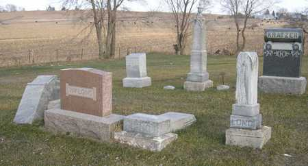 LONG, FAMILY PLOT - Linn County, Iowa | FAMILY PLOT LONG