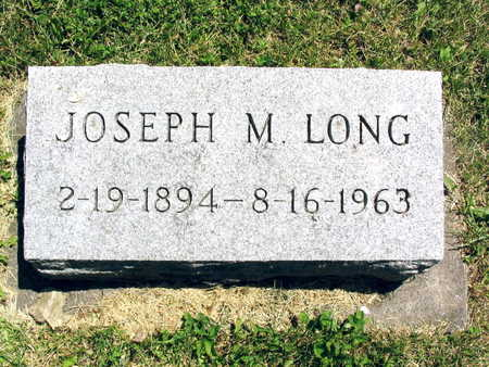 LONG, JOSEPH M. - Linn County, Iowa | JOSEPH M. LONG