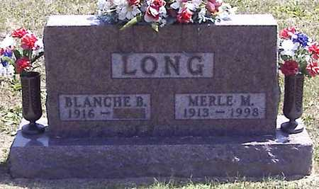 LONG, MERLE M. - Linn County, Iowa | MERLE M. LONG