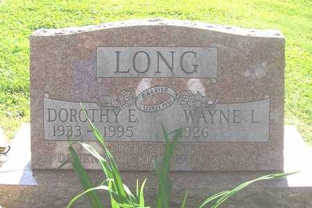 LONG, DOROTHY - Linn County, Iowa | DOROTHY LONG