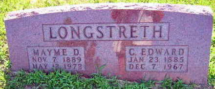 LONGSTRETH, C. EDWARD - Linn County, Iowa | C. EDWARD LONGSTRETH