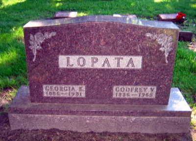 LOPATA, GODFREY V. - Linn County, Iowa | GODFREY V. LOPATA