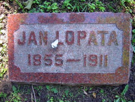 LOPATA, JAN - Linn County, Iowa | JAN LOPATA