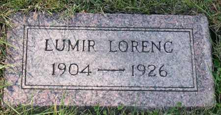 LORENC, LUMIR - Linn County, Iowa | LUMIR LORENC