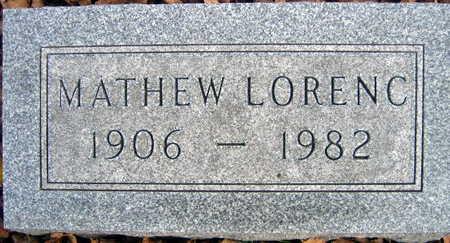 LORENC, MATHEW - Linn County, Iowa | MATHEW LORENC