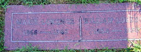 LORENCE, WILLIAM - Linn County, Iowa | WILLIAM LORENCE