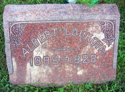 LOUKOTA, ALBERT - Linn County, Iowa | ALBERT LOUKOTA