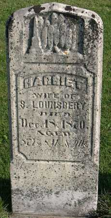LOUNSBERY, HARRIET - Linn County, Iowa | HARRIET LOUNSBERY