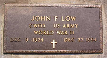 LOW, JOHN F. - Linn County, Iowa | JOHN F. LOW