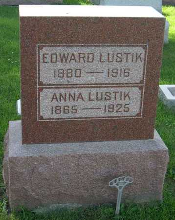 LUSTIK, EDWARD - Linn County, Iowa | EDWARD LUSTIK