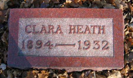 LUSTICK, CLARA HEATH - Linn County, Iowa | CLARA HEATH LUSTICK
