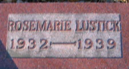 LUSTICK, ROSEMARIE - Linn County, Iowa | ROSEMARIE LUSTICK