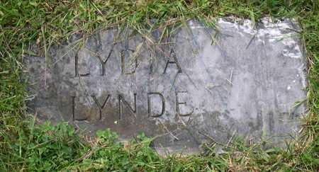 LYNDE, LYDIA - Linn County, Iowa | LYDIA LYNDE