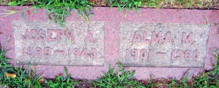 MACH, JOSEPH A. - Linn County, Iowa | JOSEPH A. MACH
